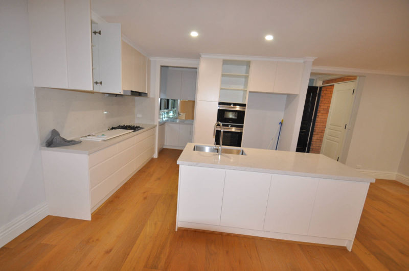 Melbourne Home renovation - kitchen cabinets