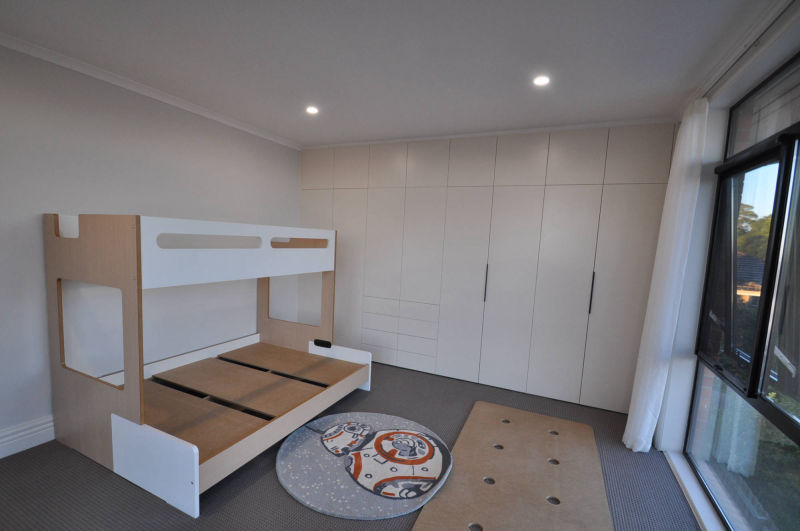 Melbourne Home renovation - wardrobe