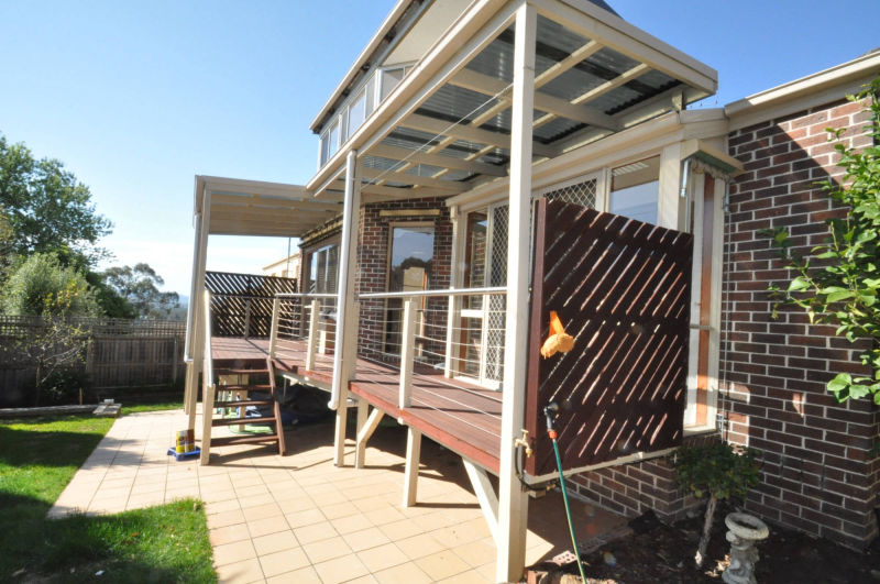 Melbourne Home renovation - Decking
