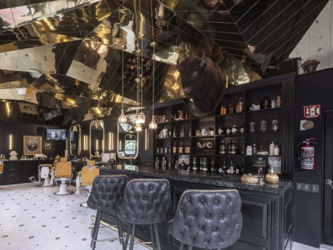 Hair Salon Design and Decoration - Italian Stylelish