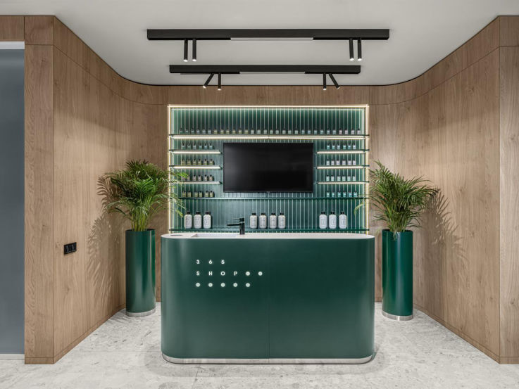 Hair Salon Design - Italian Style
