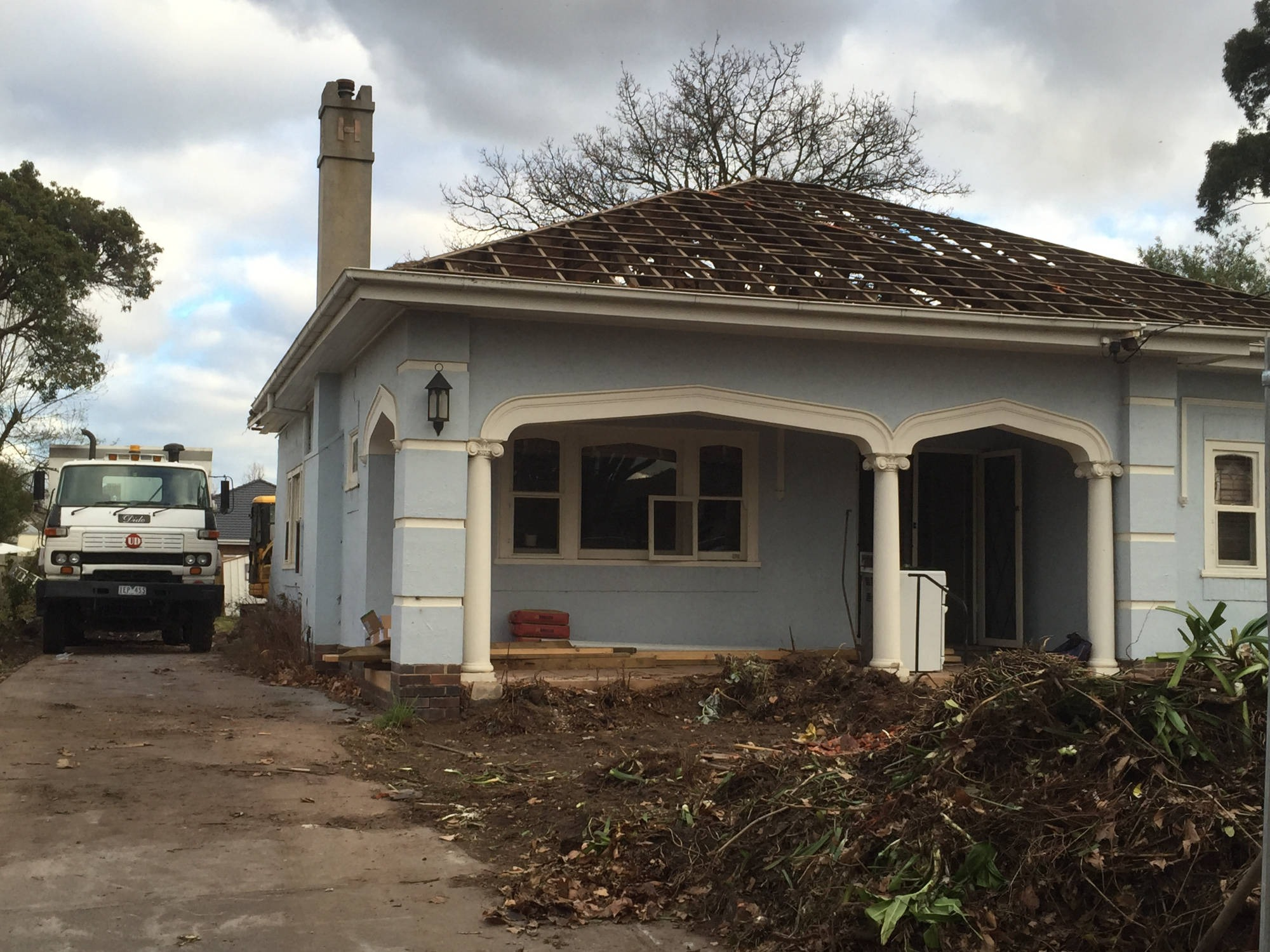 Melbourne home extension - Project Start