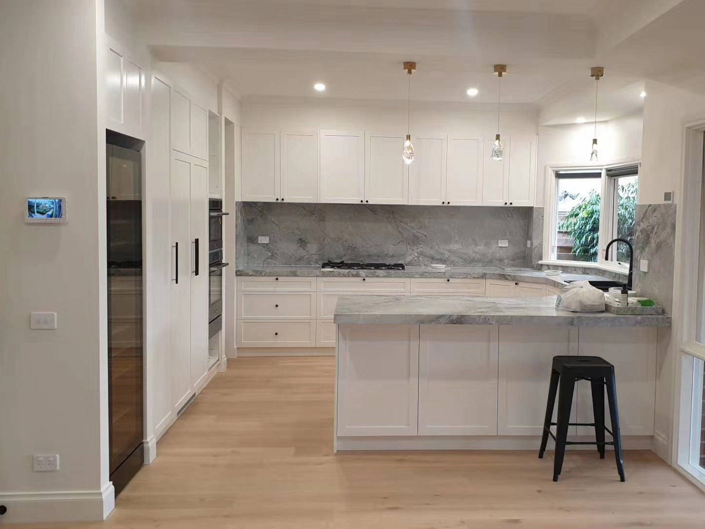 Melbourne home extension - kitchen cabinets